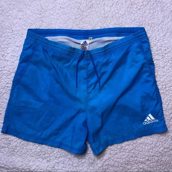 f2d5581b5a adidas Shorts | Vintage Retro Swim Short Medium | Poshmark